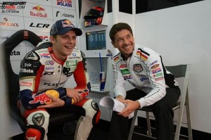 Bradl is about to start his third season with the LCR Honda team.