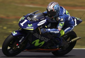 Movistar was last seen in the Grand Prix paddock in 2005, supporting defending 250cc champion Dani Pedrosa.