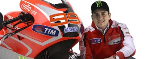 Photoshoped pictures of Lorenzo in red have already appeared online.