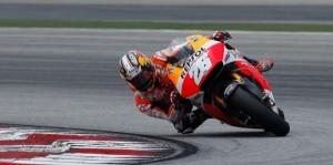 Dani Pedrosa was the fastest rider on the second day of the Sepang test.