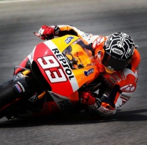 Marc Marquez was once again the quickest rider during the second day of testing in Sepang.