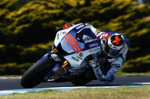 Lorenzo was the fastest rider in Phillip Island, and he was considerably happier with his Bridgestone's.
