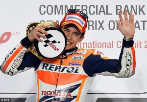 Any doubts over Marc Marquez were quashed in Qatar with a stunning win.
