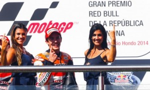 Marc Marquez has become the first rider since Agostini to win the three opening Grand Prix from pole position.