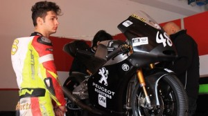 Lorenzo Dalla Porta will be riding the Peugeot in this seasons Italian CIV Championship.