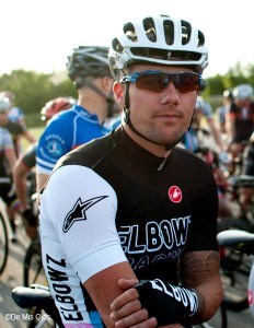Ben Spies' 'Elbowz' cycling team no takes up most of his time.