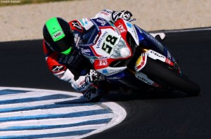 Laverty spent two years in the 250 class racing lots of the current MotoGP field.