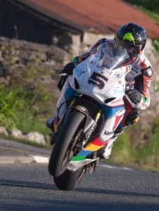 Anstey was the fastest on the first day of practice at the 2014 TT.