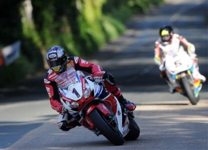 McGuiness and Anstey in action once again on the Isle of Man.