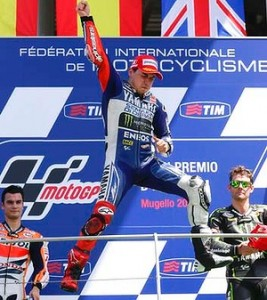 Lorenzo will be hoping that he can find himself on the Mugello top spot once again.