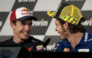 Rossi has said that thinks Marquez may spend his entire career at Honda.