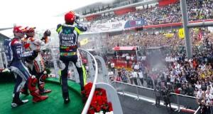 Valentino Rossi claimed his 187th podium in his 300th Grand Prix.