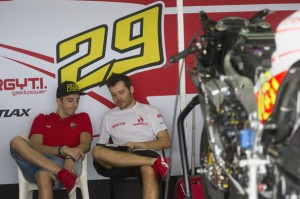 Iannone hopes to be wearing red every weekend next season.