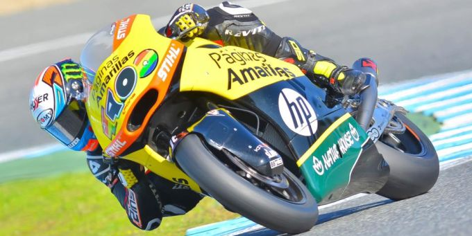 Alex Rins Jerez test