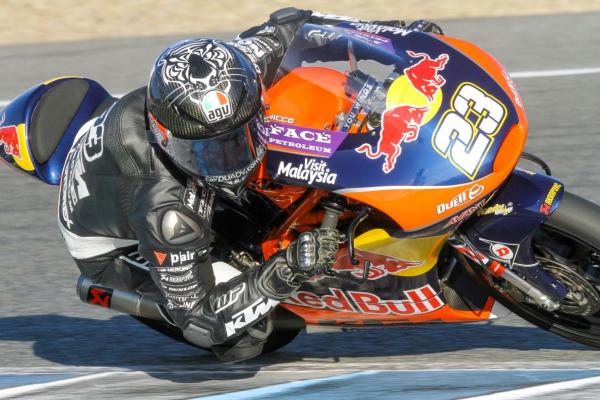Nakagami and Di Giannantonio end Jerez tests fastest