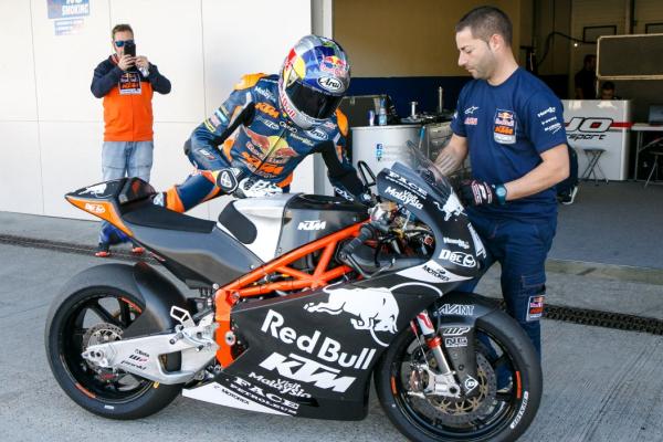 Binder, Bagnaia, Navarro, Quartararo; what the Moto2 rookies had to say