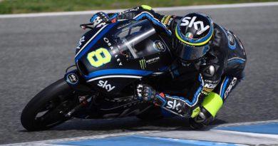 Bulega tops first day of Moto3 testing in Jerez