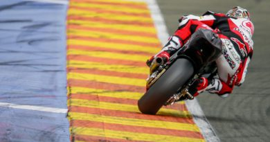 Nakagami continues blistering start to pre-season testing