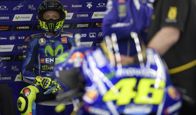 Rossi arrives in Texas with a score to settle