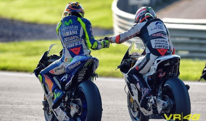 Valentino Rossi Sends Message Of Support To Nicky Hayden