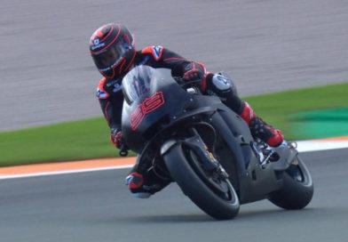 First look: Lorenzo gets first taste of Honda